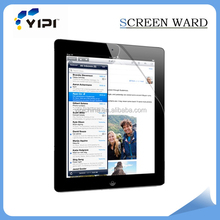 Factory price high clear screen protector for ipad2 mobile phone accessories