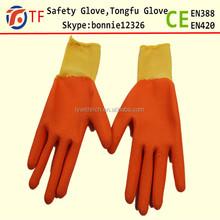 Crinkle latex gloves vietnam with design