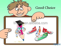 Cute shoe shape pencil case for girls,BSCI factory pencil case