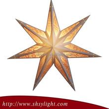 45cm white seven-point christmas paper star lantern/decoration