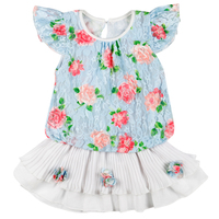 Chiffon Fabric 2 and 3 Year Old Children Girl Dress New Model Flower Girl Dress