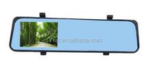 CAR DVR 4.3 inches G-sensor full hd 1080p car digital rearview mirror with GPS