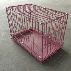 5 Sizes Metal Folding Dog Crate, Metal Folding Dog Cage, Metal dog kennel