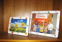 adhesivo fabricante de porcelana / stand marcos de fotos de plástico