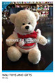 personalizado sin relleno de la felpa oso de peluche con pieles de osos de peluche de venta al por mayor
