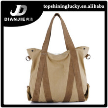 Factory direct supply handbag wholesale brand name tote canvas bags