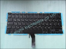 wholesale price laptop keyboard keypad for macbook air 13 a1369 a1466 2011 2012 2013 Russian layout black