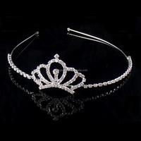 "Hot selling Crystal Princess ""Crown"" Design Tiara"