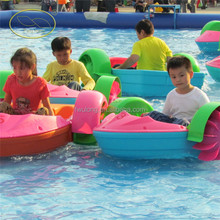 Funny park inflatable kids paddle boat for sale