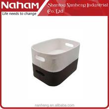 NAHAM Felt Storage Tote Magazine Basket