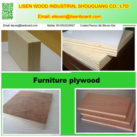 fancy decorative plywood board 16mm/White Laminated Plywood For Cabinet