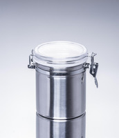 650ml Supplier plastic food sealable metal freshness locking metal boxes