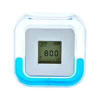 Clock/thermometer/alarm/timer with water and Oil