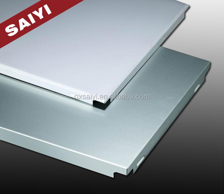 Maison int rieur d coratif acoustique en aluminium plafond panneaux muraux tu - Panneau acoustique maison ...