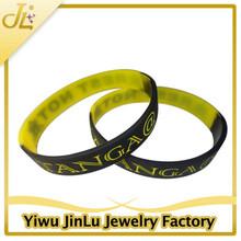 Fashion bracelet custom silicon wrist band