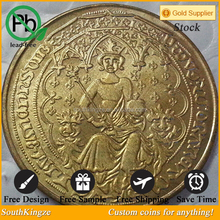 2015 new art and crafts gold coating Roman copy coin