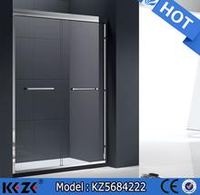 2015 new design aluminum silver finish shower room