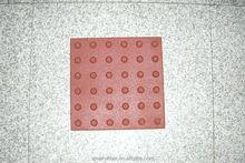 UV-resistant safe tactile tile