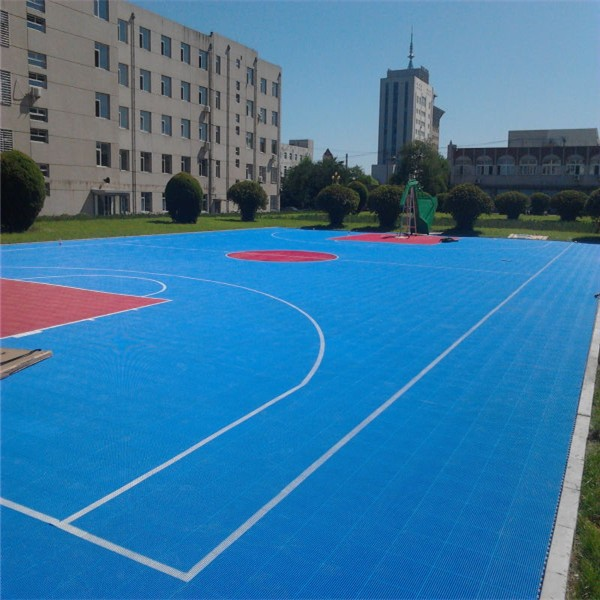 Pp Standard Basketball Court Flooring Cost