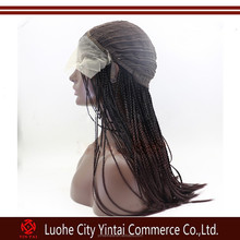 Braided Wig box braids one size elastic stretchable cap synthetic T-colors