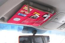 Sun Visor Point Pocket Organizer Pouch Hanging Storage Bag Car hang bag Visor Organizer
