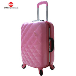 Black Unique Design High End Quality Hardside Travel Time Four Wheels Trolley Luggage Factory In Guangdong China
