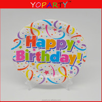 disposable plates paper plate birthday party supplies decoration
