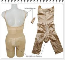 la pierna de la ropa interior modeladora para mujeres