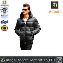 2014 Hot Selling Thin Outdoor Short Man Duck Down Coat