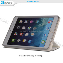 high end finishing tri - folded standing magnetic cover for ipad mini