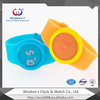 Hot!!! colorful LED touch screen silicon watch 2013