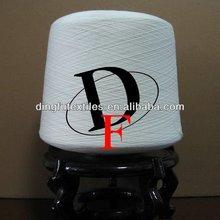 Hilados de algodón poliéster 80/20 40s en china para hacer punto