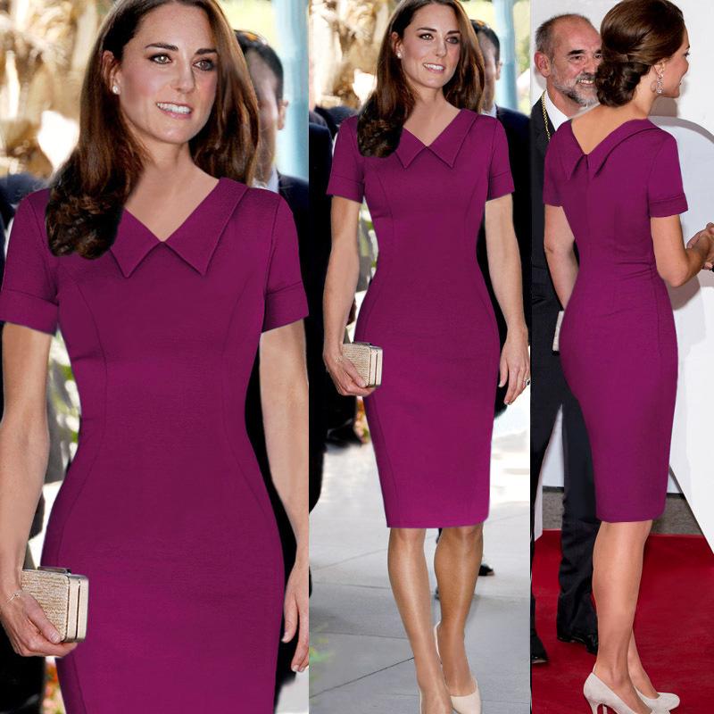 141202 # verano Kate Middleton vestidos de la celebridad Peter Pan ...