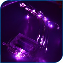 2015 Christmas Decoration Small 4.5V Battery Powered Popular Holiday Led Copper String Lights
