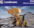 19ton CLG856III TC LIUGONG cargador con 3 m3 Cubo para equipo pesado para la maquinaria forestal