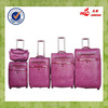 New Design Lady Genuine Leather Bags Beauty Case Woman Trolley Luggage Set