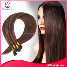 Fashion girls beauty forever hair I-tip hair extension