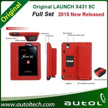 official Update free Original New Arrivals Launch X431 5C(X431 5 v) Wifi/Bluetooth Tablet Full System with full sets cables