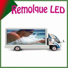 ail express P12 full color video mobile truck led display