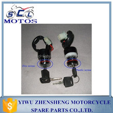 SCL-2012030226 Zinc Screw GN125 Motorcycle Ignition Switch Parts
