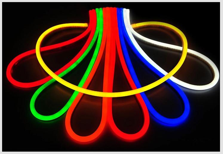 Hot sale yellow colorful round led flex neon rope lights for neon lightg light on neon lightg aloadofball Images