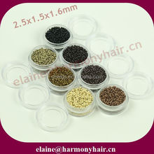 QUALITY copper nano rings/nano micro rings for hair extension