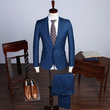 Bespoke suit men's suit top quality hand made