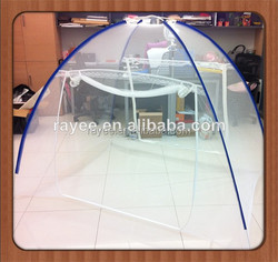 mosquito net 100%Polyster, Denier.75 W160 x H150 x L180 cm. Blue, Yellow, Green rectangular, aprobacion WHOPES mosquitera llin