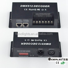 RGBW 4 channels DMX decoder 20A max power 240W