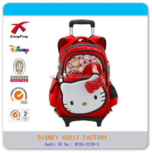 hello Kitty girls trolley bag backpack fpr student