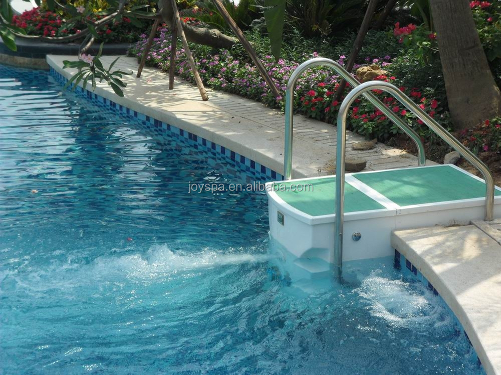 Professional swimming pool equipment like wall mounted for Swimming pool accessories