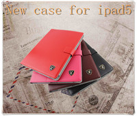 new product for 2013 leather case for ipad5, 9.7 inch for ipad case made in china