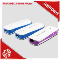 Mini ADSL Modem Router WiFi 3G