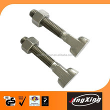 Supplier all type of T head bolt with competitive price